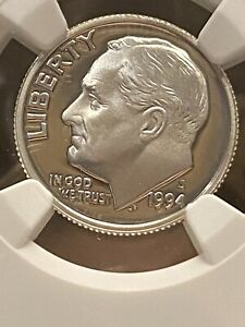 NGC GRADED ROOSEVELT SILVER DIME 1994-S NGC PF69 ULTRA CAMEO