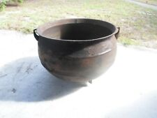 Antique Baltimore Cast Iron 3 Leg Cauldron Kettle