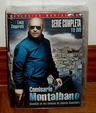 COMISARIO MONTALBANO-COLECCION COMPLETA-PACK 18 DVD-NUEVO-PRECINTADO-THRILLER