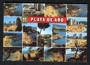 Posted 1982 Multiviews of Castell, Platja d'Aro