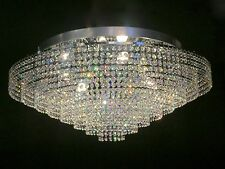 Crystal Chandelier Chrome Ceiling light Flush lighting with 6 lamps It-PL-80