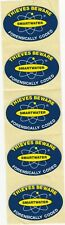 """""""SMARTWATER Forensically Coded - Thieves Beware"""" Self-Adhesive Stickers (x5)"""