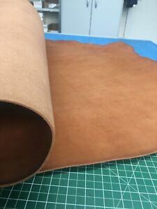 Lederstück  Rindsleder  Bastelleder Blankleder / Dickleder 2,8-3,4 mm Fettleder
