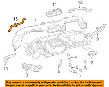 Chevrolet GM OEM Instrument Panel Dash-Defroster Duct Outlet Left 10229415