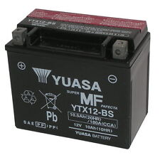 Batterie Yuasa ORIGINAL YTX12-BS Aprilia Sport City Würfel 250 08 10