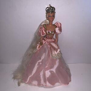 Vintage Princess Rapunzel Barbie Doll 1997 Long Hair & Pink Dress