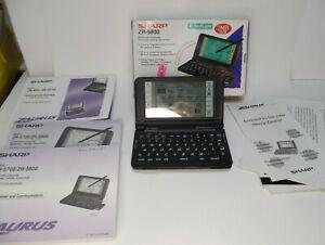 Sharp Zaurus ZR-5800 Keyboard Enhaced. Personal Digital Assistant (no Stylus)