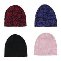 Frauen Winter Chemo Bandana Beanie Turban Kopf Wickelband Spitze Hut Warme Mütze