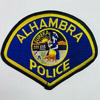 Alhambra Police California CA Patch (C4)