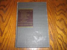 Introduction to General Equilibrium Theory and Welfare Economics 1968 Quirk/Sapo