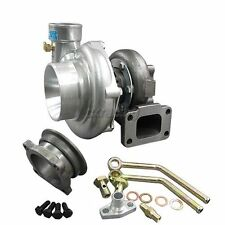 CXRacing Universal GT35 Turbo Charger T3 For Civic Prelude Mustang + Oil Fitting
