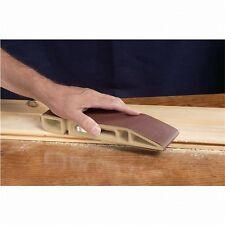 "Sand Devil Sand Paper Sanding Block / Handheld Belt Sander w/ 3 x 21"" Abrasive"