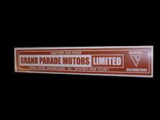 Vauxhall Dealer Glass Sticker - Vauxhall Velox FD Victor Viva Bedford Van Camper