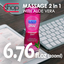 DUREX PLAY MASSAGE ALOE VERA LUBE GEL LUBRICANT CE FREE FAST DISCREET DELIVERY
