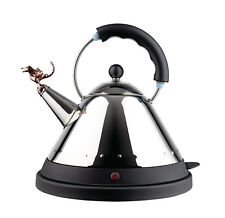 Alessi - MG32REXBUK - Tea Rex Electric kettle - Black Handle