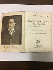 Ruben Dario - Obras Poeticas Completas - Madrid 1945 (Edicion Revisada)