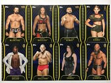 2018 Topps WWE NXT Blue Parallel #/50 Singles U-PICK Complete Your Set