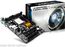 PB m-ATX Asrock N68-GS4 FX Socket AM3+ AMD Phenom 2 X6 DDR3 VGA nVidia GeForce