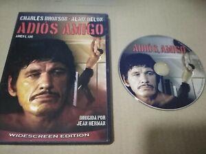 ADIOS AMIGO DVD CHARLES BRONSON ALAIN DELON