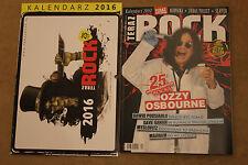 Teraz Rock 12/2015 Ozzy Osbourne,Dave Gahan,Nirvana,Tool,Danzig + CALENDAR 2016