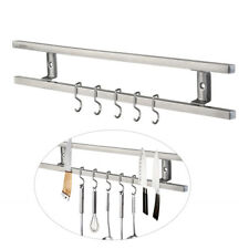 6 Haken Magnetleiste Messerleiste Messerhalter Messer Magnet Edelstahl Küchenlei