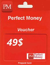 PERFECT MONEY | KOD | VOUCHER | USD 49$ | TOP SPRZEDAWCA | SZYBKO !