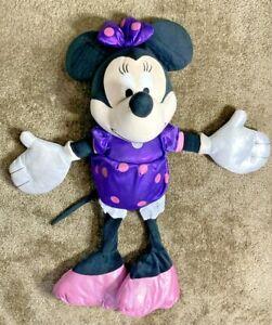 "Vintage Disney Minnie Mouse Original Plush Toy Goofy Donald 27"" Hard_8s_Magic"