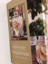 Mason Jar Drink Dispenser Old Fashioned Nantucket Glassware 2 Gallons