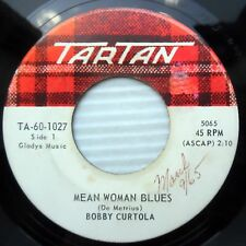 BOBBY CURTOLA 1965 teen rocker 45 MEAN WOMAN BLUES DEVIL MAY CARE ANGEL e7873