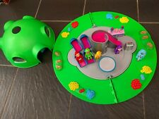 TELETUBBIES HOME ON THE HILL PLAYSET FIGURES WORKING LIGHTS