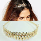 Gold Laurel Leaf Headband Grecian Headdress Roman Hair Crown Festival