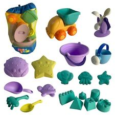 20tlg. Sandspielzeug Set Strandspielzeug für Sandkasten mit Kipper und Gießkanne