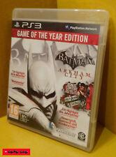 BATMAN - ARKHAM CITY Game of the Year Edition - PS3 Spiel - gebraucht, getestet