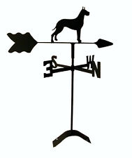 great dane roof mounted weathervane black wrought iron look made in usaTLS1023RM
