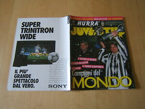 HURRA JUVENTUS=1996=SPECIALE COPPA INTERCONTINENTALE JUVE-RIVER PLATE=POSTER