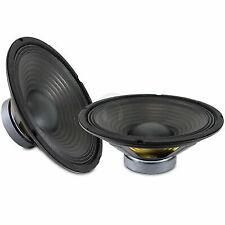 "2x Skytronic 10"" Components Bass Woofer Speaker Drivers Cones 400 Watt UK Stock"