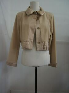 Didier Parkian Brown Jacket Size 14