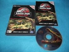 JURASSIC PARK OPERATION GENESIS PC CD-ROM V.G.C. (  original + games manual )