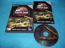 JURASSIC PARK OPERATION GENESIS PC CD-ROM V.G.C. (  original + games manual )