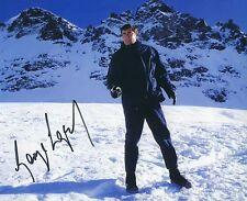 GEORGE LAZENBY SIGNED 007 JAMES BOND - 10x8 PHOTO UACC & AFTAL RD AUTOGRAPH