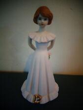 1982 Vintage Enesco Growing Up Birthday Girls 13 Figurine