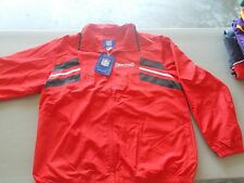 NWT TAMPA BAY BUCCANEERS REEBOK SIDELINE WINDBREAKER JACKET FULL ZIPPER SIZE LG