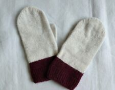 COS Cashmere Mittens in Beige  -  Size: XS / S
