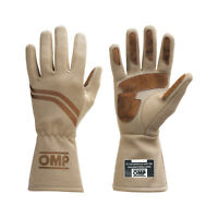 Neu OMP Handschuh DIJON ecru (Homologation FIA) (M)