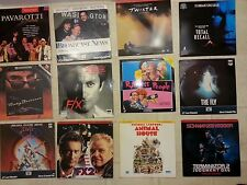 Laser Disc Movies - Choose 5