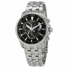 "Citizen Men's Eco-Drive Perpetual Calendar Silver-Toned Watch BL8140-55E Fits 8"""