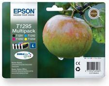 T1295 Epson Original Printer Ink Cartridges C13T12954010 Apple Ink