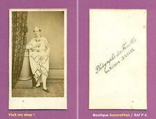 CDV DES FAMILLES AU HAVRE :  HOMME COSTUMÉ, ACTEUR, THÉÂTRE , VERS 1870  -P4