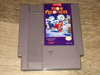 Snow Brothers Nintendo Nes Cleaned & Tested Authentic