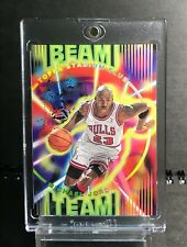 1995-96 Stadium Club Beam Team #BT14 Michael Jordan